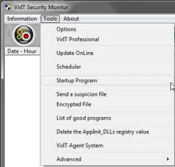 Send file in Auto Execution - Vir.IT Security Monitor
