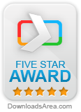 Vir.IT eXplorer awarded 5 Stars at Downloadsarea.com