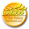 Vir.IT eXplorer Lite awarded 5 Star Rating at FreshShare.com