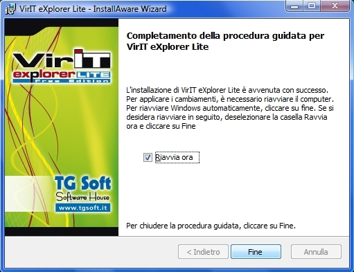 Trasferire i file di Vir.IT eXplorer Lite
