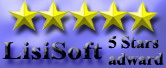 Vir.IT eXplorer Lite awarded 5 Stars at LisiSoft