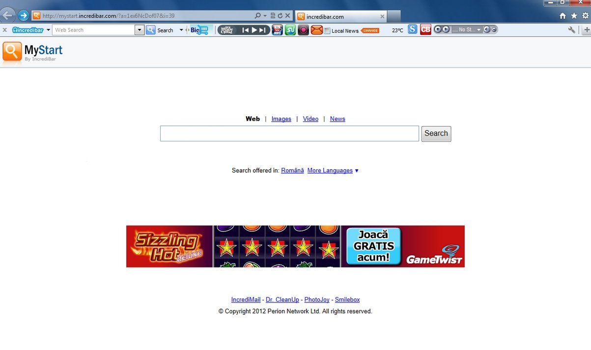 Browser compromesso da MindSpark
