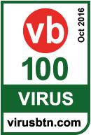 Accedi all'informativa relativa alla certificazione VB100 2016-10 ottenuta da Vir.IT eXplorer PRO