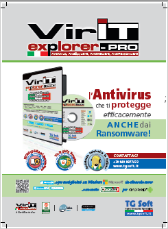 Vir.IT eXplorer PRO AntiVirus, AntiSpyware, AntiMalware e AntiRanomware