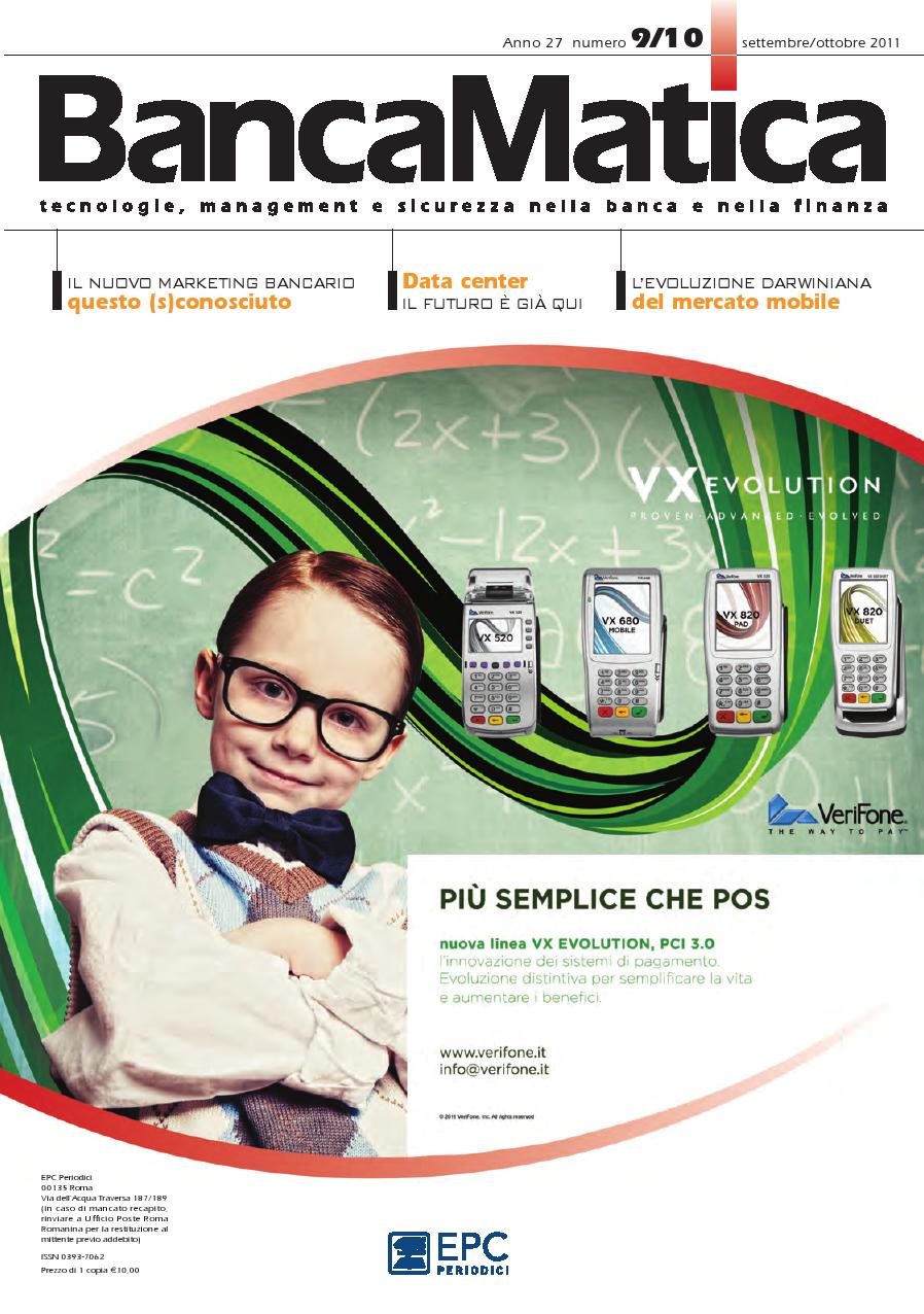 Visualizza la copertina di Banca Matica settembre/ottobre 2011