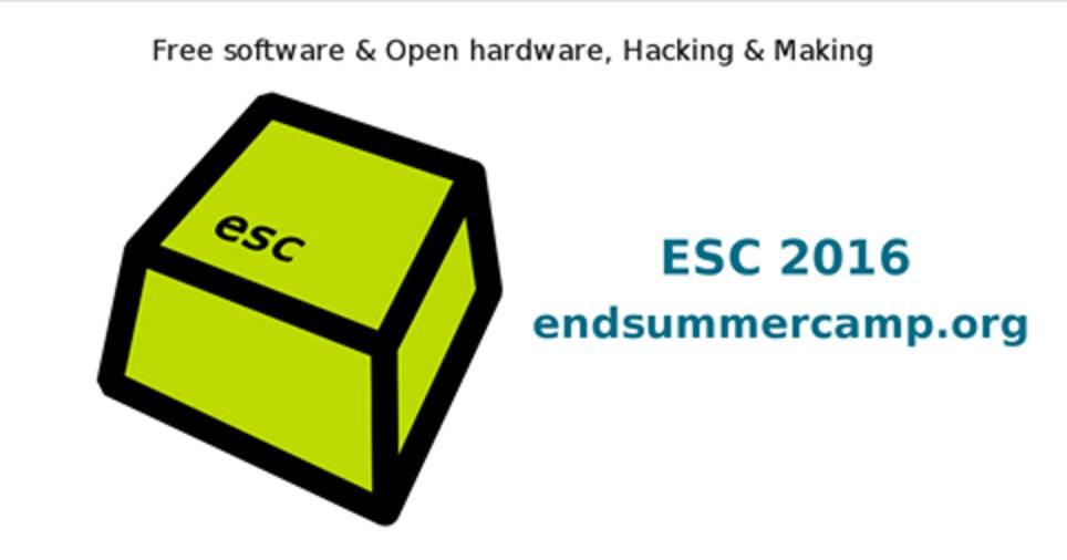 Accedi al sito ufficiale di ESC - End Summer Camp 2016