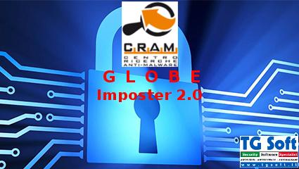 Attenzione al nuovo cryptomalware GlobeImposter 2.0 .