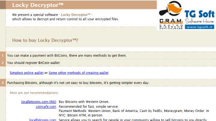 Clicca per ingrandire l'immagine della richiesta di riscatto di CryptoZepto l'erede di CryptoLockyyCripter