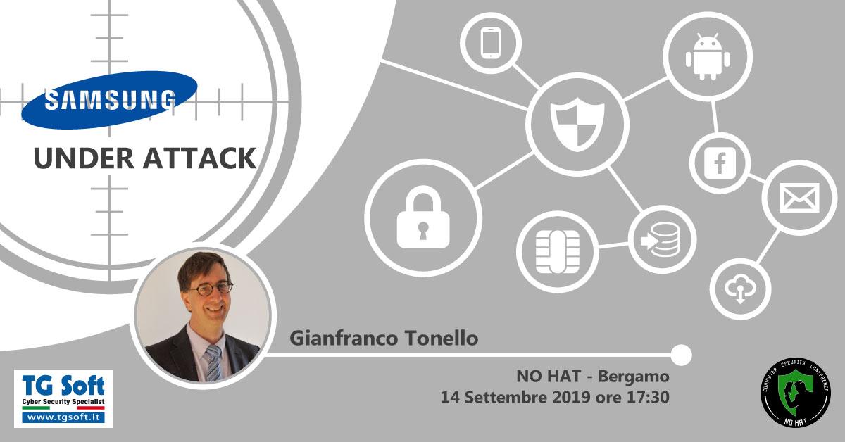 Clicca per accedere alla pagina di registrazione al NO HAT Computer Security Conference che si terrà sabato 14 settembre a Bergamo..