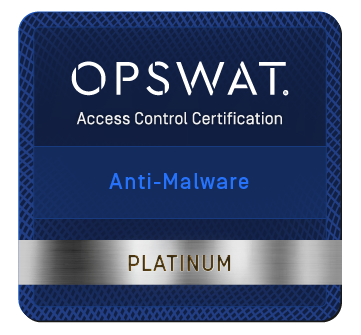 Vir.IT eXplorer PRO OpsWat Partner Certified & Anti-malware PLATINUM Certification