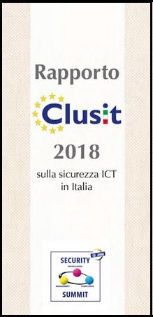 Richiedi una copia del Rapporto Clusit 2018 che ha visto il contributo tecnico anche di TG Soft