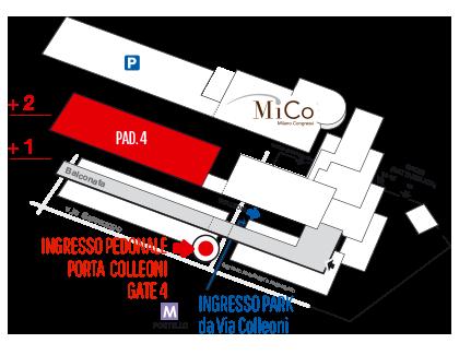 Clicca per maggiori info su come raggiungere SMAU Milano 2016 presso fieramilanocity...