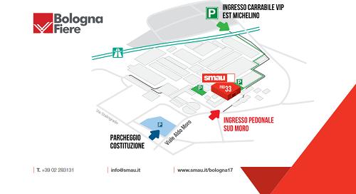 Clicca per maggiori info su come raggiungere SMAU Bologna 2017 presso BolognaFiera...