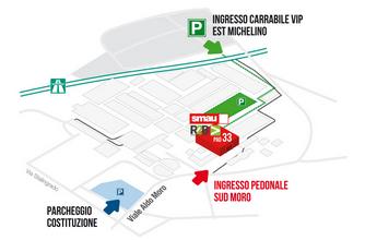 Clicca per maggiori info su come raggiungere SMAU Bologna 2019 presso Padiglione 33 di BolognaFiere...