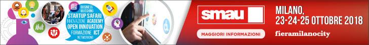 Clicca quì per ottenere l'INGRESSO OMAGGIO a SMAU Milano 2018 offerto da TG Soft