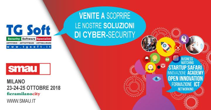 SMAU Milano 2018 => Ingresso OMAGGIO offerto da TG Soft