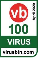Logo VB100 by Virus Bulletin