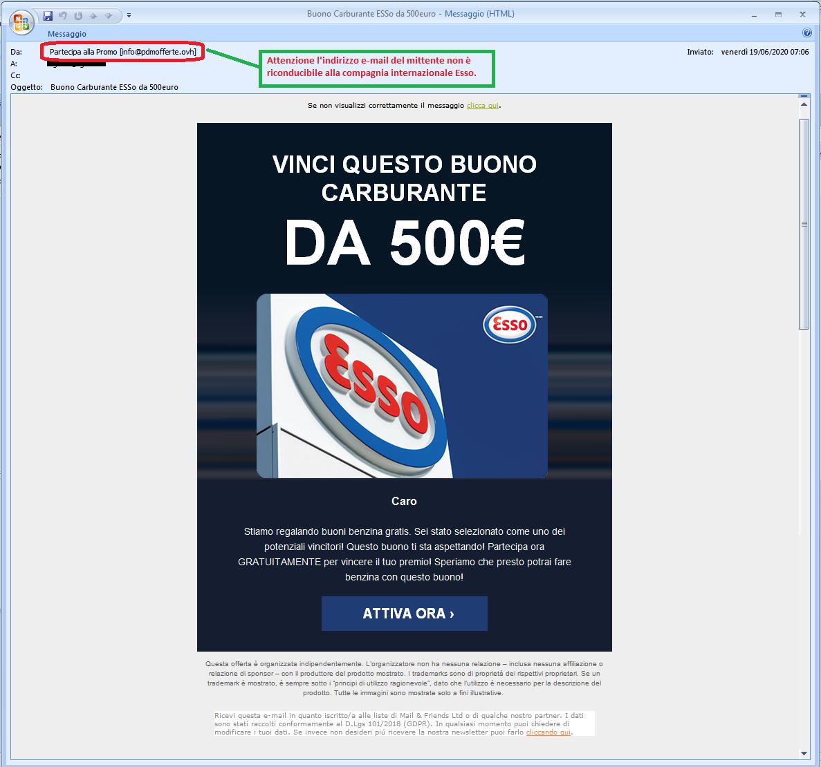 Clicca per ingrandire l'immagine della falsa videata di IKEA che offre la possibilità di vincere un buono del valore di 250 Euro ma che in realtà è una TRUFFA!